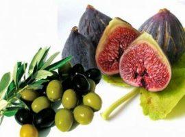 Olive Trees - Fig Trees - English Menu